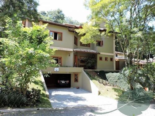 Casa Com 4 Dormitórios À Venda, 448 M² Por R$ 2.300.000,00 - Granja Viana - Jandira/sp - Ca0353