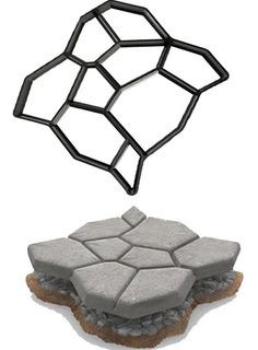 Molde De Piedras Para Camino Concreto Cemento Patio Jardín