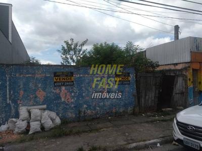 Terreno À Venda, 250 M² Por R$ 250.000 - Jardim Presidente Dutra - Guarulhos/sp - Te0134