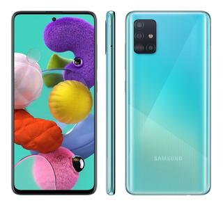 Smartphone Samsung Galaxy A51 128gb Azul 4g - 4gb Ram 6,5