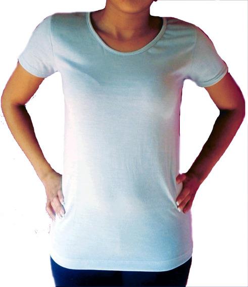 Remeras Sublimables Mujer Modal S Al L Promocion