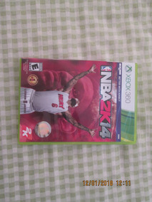 Jogo Xbox 360 Nba 2k14. Não Possui Riscos No Dvd . R$ 34,96
