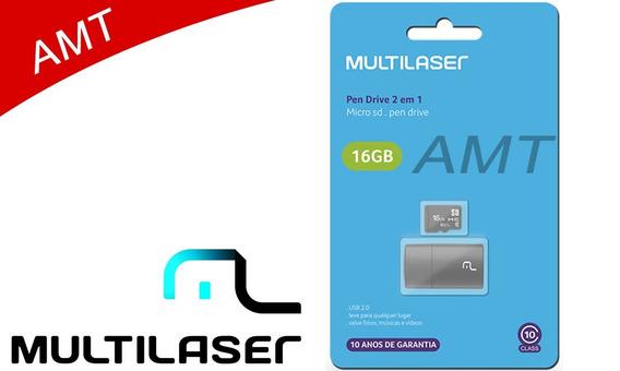 Cartão De Memória 16 Gb Original Micro Sd Classe 4
