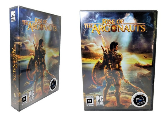 Jogo Rise Of The Argonauts Computador Pc Ação Rpg Guerra Dvd