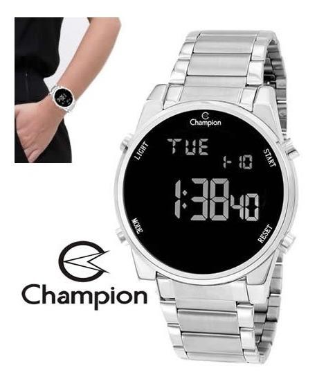 Relógio Champion Feminino Ch40071t Digital Aço