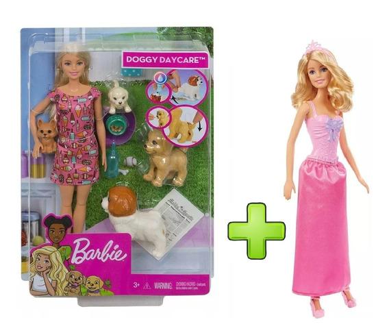 Barbie Treinadora De Cachorrinhos + Princesas - Mattel