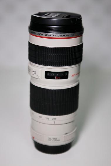 Lente Canon 70-200mm F4