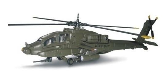 Helicoptero Apache Ah 64 Escala 1:55 New Ray