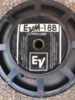 Parlante De 18 Evm 18b Electro Voice 400w 8 Ohm Pro-line
