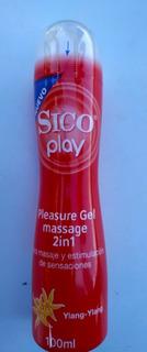 Gel Play Sico Lubricante 1 Pieza