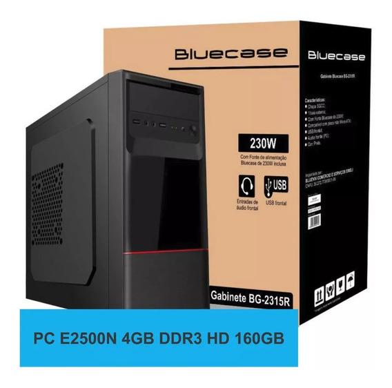 Pc Amd E1 Bg-2315r E2500n Ram Ddr3 4gb Hd 160gb