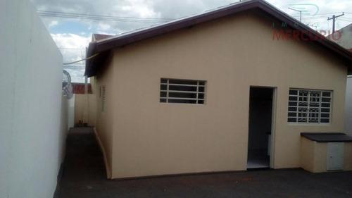 Casa Residencial À Venda, Jardim Gerson França, Bauru. - Ca2369