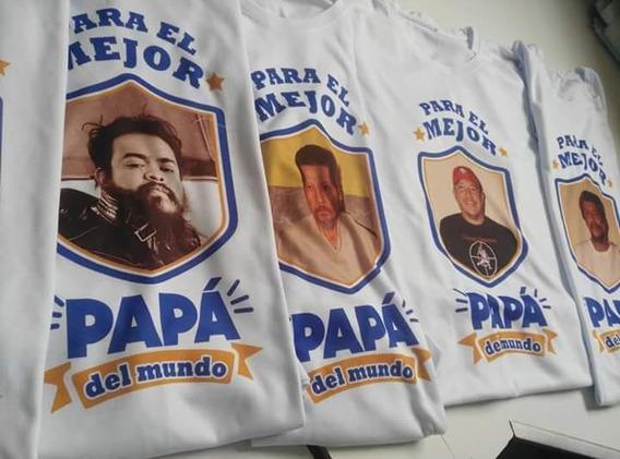 Playeras Blancas Personalizadas Para El Día Del Padre