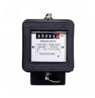 Remarcador Monofásico Eléctrico 20a 50hz Medidor Consumo Luz