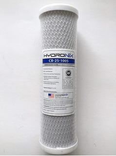 Filtro De Agua 5 Micrones Carbon Activado 2 5x9-7-8 Pulgadas