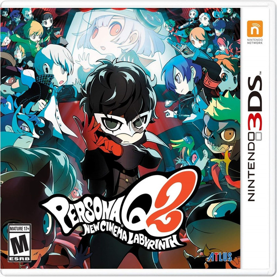 Persona Q2: New Cinema Labyrinth - 3ds Lacrado