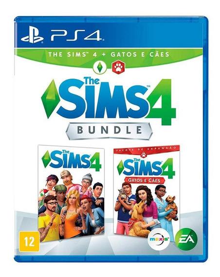 Bundle - The Sims 4 Cães E Gatos Ps4