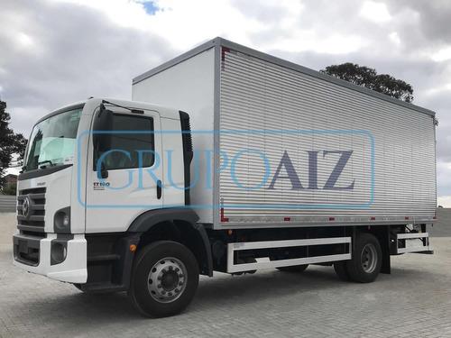 Caminhão Com Baú Vw 17.190 Robust 0 Km Emplacado