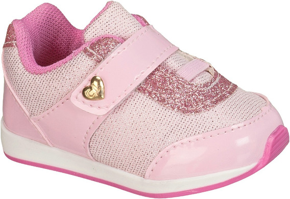 Tênis Infantil Feminino Bebe Toke Leve 013 (1 Par)