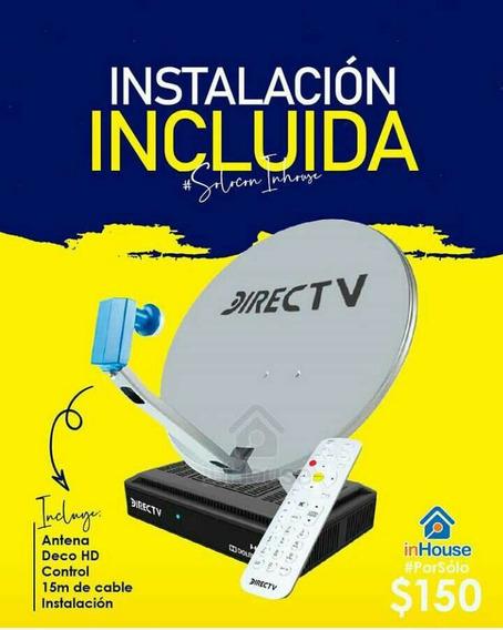 Kit Directv Hd (deco, Antena, Control E Instalación)