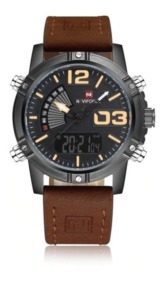 Relógio Masculino Esportivo Confira Naviforce Modelo 9095