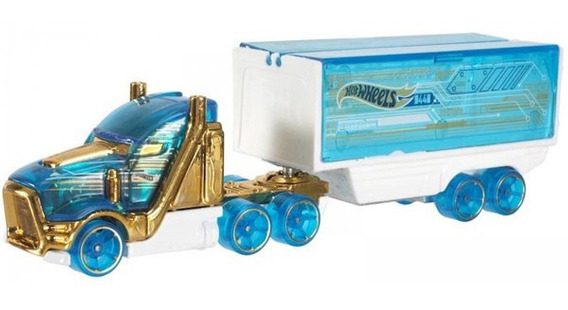 Hot Wheels Track Stars Camion Transportador Speedhauler Azul