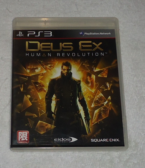 Deus Ex Human Revolution Ps3 R3 ** Frete Grátis Leia