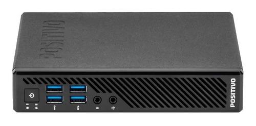 Cpu Positivo Mini Intel Core I3 6ger 4gb Hd 240gb Ssd - Novo