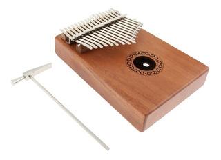1 Pieza 17 Teclas Kalimba Thumb Piano Accesorios