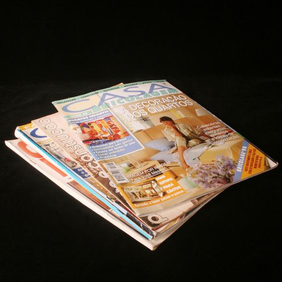 5 Revistas Relacionadas À Arquitetura E Decoração - Anos 90