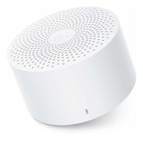 Imagen 1 de 2 de Parlante Xiaomi Mi Compact Bluetooth Speaker 2 portátil white