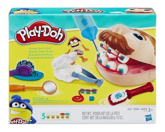 Play Doh Masa De Juego Dentista Bromista Hasbro B5520 Full!