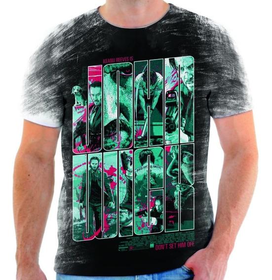 Camiseta Camisa Blusa Filme Cinema John Wick 11
