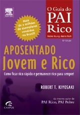 Livro Aposentado Jovem E Rico Robert Kiyosaki