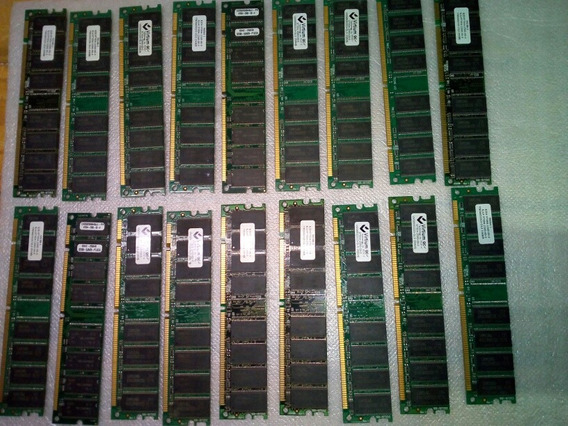 Memorias Gls 256mb (ddr) Lote De X 18 Unidades