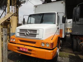 Mercedes-benz Mb 1218 - C/fechada - Branca - Ano 1998