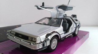 Delorean Volver Al Futuro 1, Y 2 Escala 1:24 Marca Welly