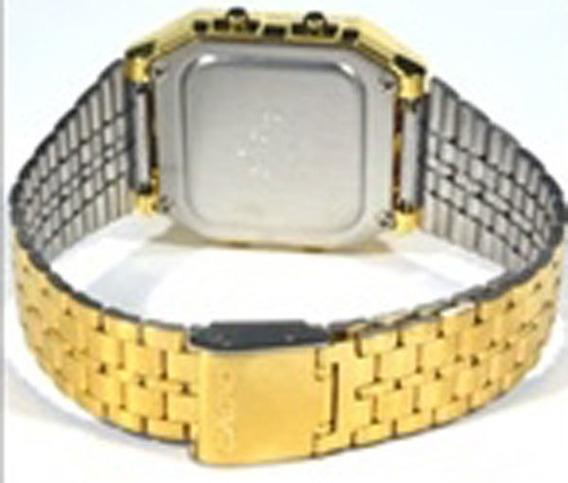 Relógio Casio Unissex Vintage World Time A500wga-1df