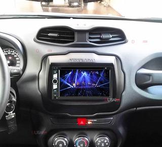Central Multimídia Dvd Jeep Renegade 2015 2016 2017 2018 Tv