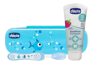 Set Chicco De Higiene Oral 12m+ Cepillo - By Creciendo