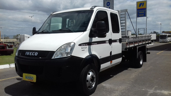 Iveco Daily 70c16hd Cab.dupla C/carroceria 4,2mts -2011/2011