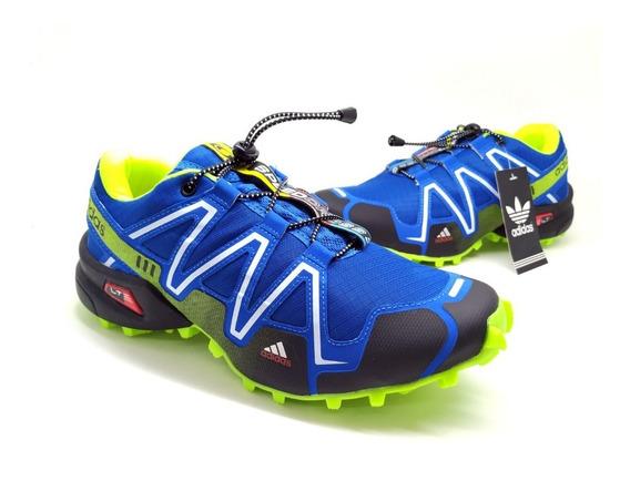 Tênis Speedcross 3 Trava Masculino Aventura Crossfit Oferta