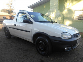 Chevrolet Corsa Pick-up Gl 1.6 2000 Branco Gasolina