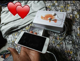 iPhone 6s Plus 128 Gb Rosê Seme Novo
