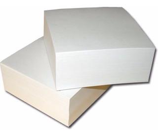 5 Tacos De Papel 9x9 Cm Blancos X400hjs Copy Plus (pack X5)