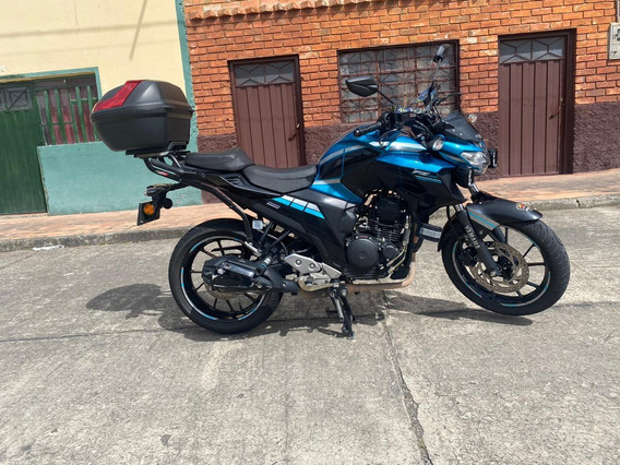 Yamaha Fz25 Azul Personalizada 250