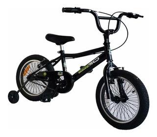 Bicicleta Cross Rod 16 Varón Cuadro Oversize Colores Varios