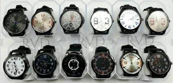 Promoção 10 Relógios Masculino Atacado Revenda Lote + Caixa