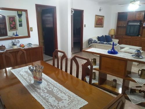 Imagem 1 de 12 de Apartamento Praia Grande, 240 Mil, 3 Dormitórios Mobiliado.