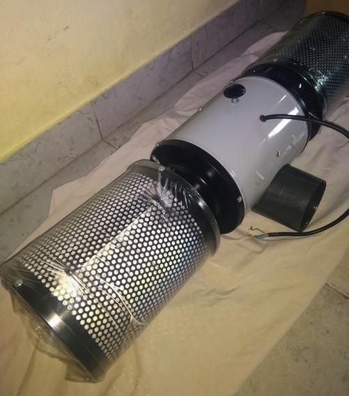 Extractor Doble Turbina 4 P. 3 Vel + Filtros Al Mejor Precio